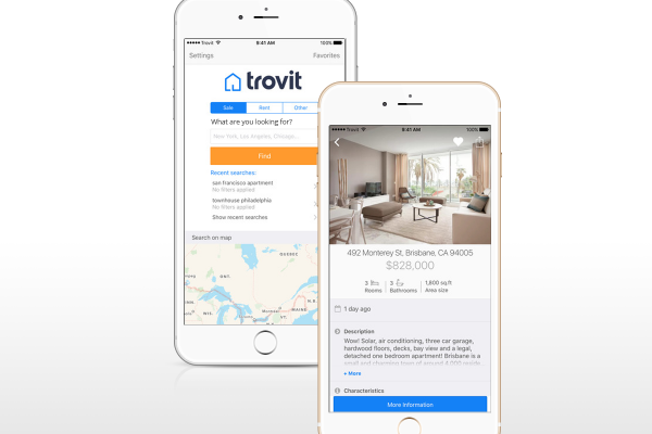 Trovit Apps Homes iPhone 6 Plus