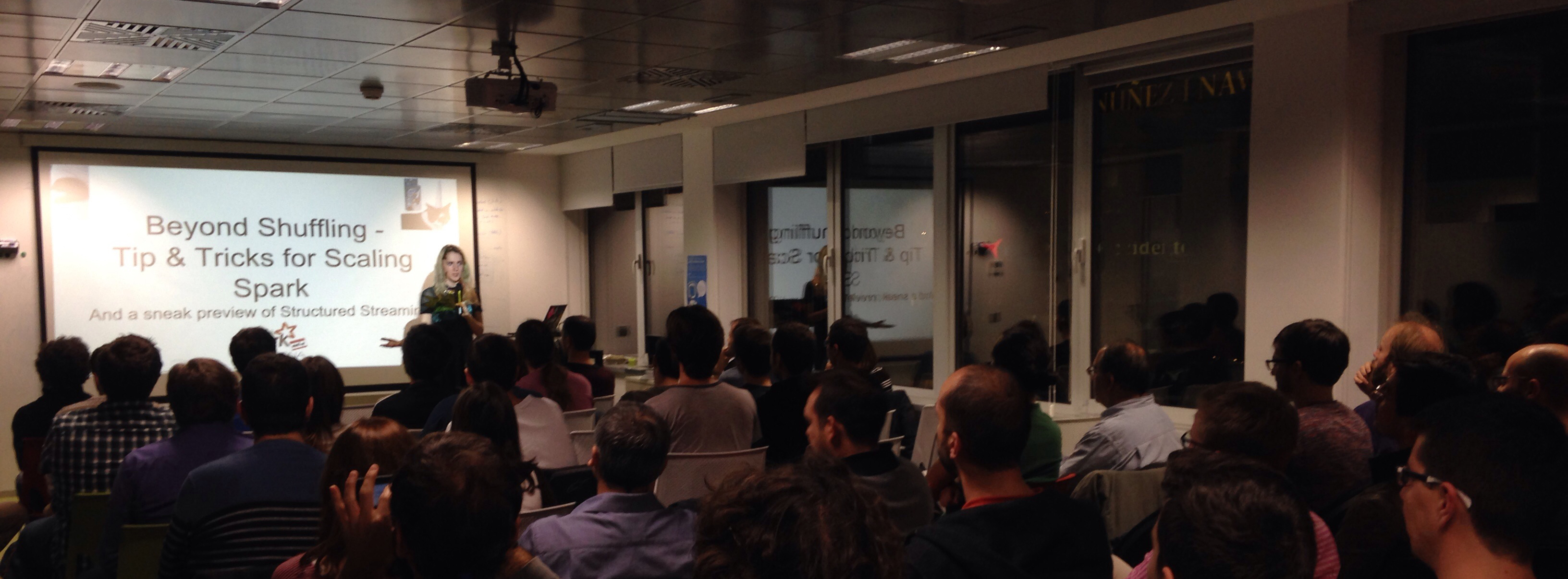 Holden Karau came to Trovit to speak about Spark and you can watch it!