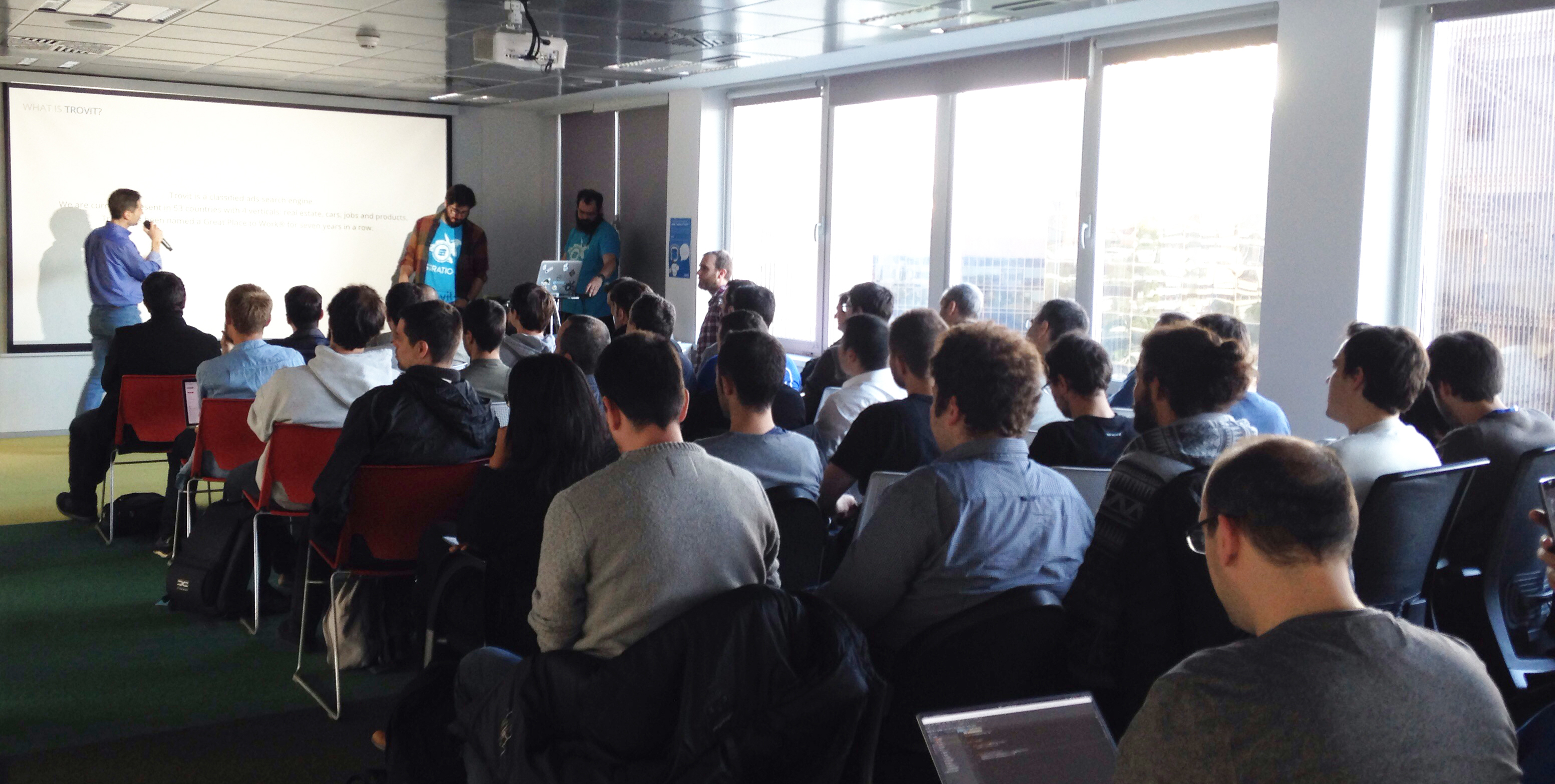 Big Data Meetup at Trovit: Stratio – Spark early adopters